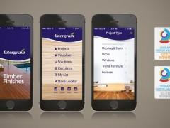 Unique fingerprint inspires winning app design