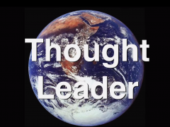 Self proclaimed thought leader on thought leadership.